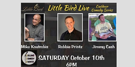 Comedy Night Live at Littlebird Events - Headliner Robbie Prince tickets