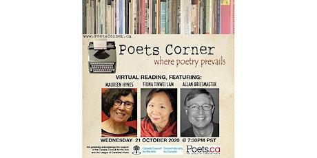 Poets Corner Reading Series tickets