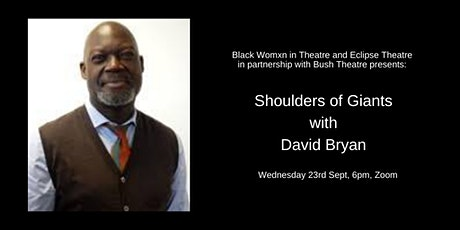 Shoulder of Giants : David Bryan:Its not a sprint! Pace & Resilience tickets