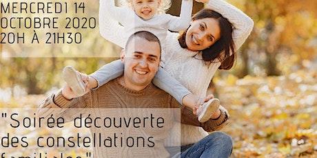 Soirée découverte de la constellation familiale billets