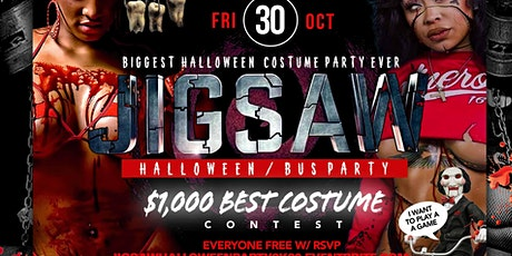 JIGSAW HALLOWEEN PARTY tickets