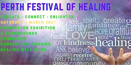 2021 Perth Festival of Healing tickets