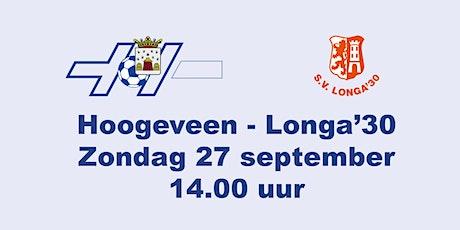 Hoogeveen - Longa'30 tickets
