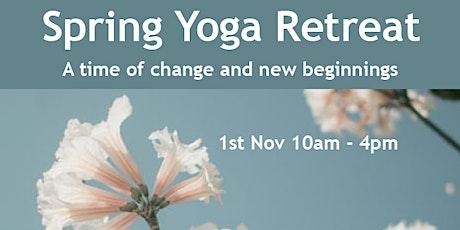 Spring Yoga Retreat tickets