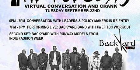 Conversations and Crank Featuring the Backyard Band and Much More tickets