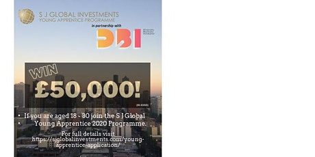 DBI Champions Networtking and WIN  £50.000 PRIZE on Young Apprentice tickets