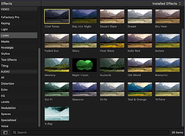 Video Schnitt & Nachbearbeitung: Bild