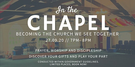 In The Chapel 3 tickets