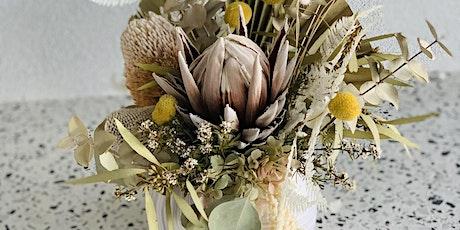 Everlasting floral arrangement tickets