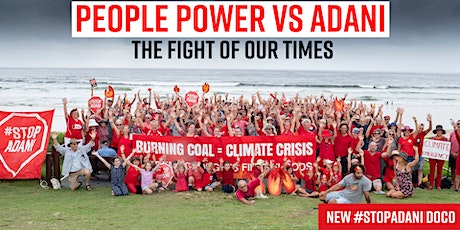 PACA Film Screening:  People Power vs Adani - The Fight of Our Times tickets