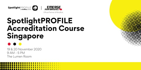 SpotlightPROFILE Accreditation Course Singapore tickets