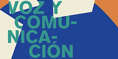 """Taller """"Voz y comunicación"""" con Ricardo Castelló entradas"""