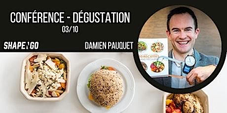 Nutrition, santé et sport - Conférence-dégustation Shape'n Go billets