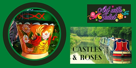 Art with Juliet - Pots: Castles & Roses C tickets