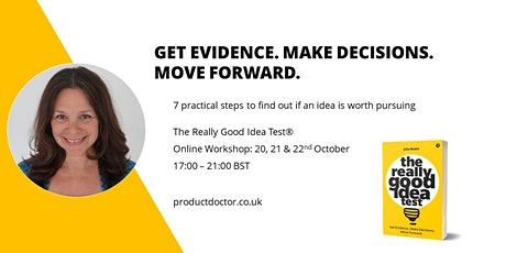 The Really Good Idea Test (online workshop) tickets