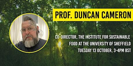 The Bio-Diverse Festival: Live Keynote Talk with Professor Duncan Cameron tickets