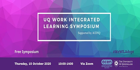 UQ Work Integrated Learning Symposium 2020 tickets