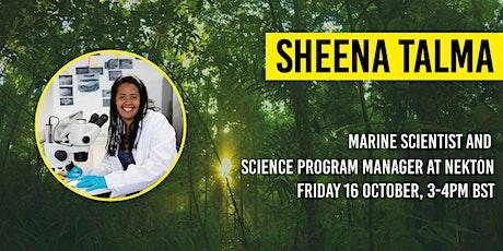 The Bio-Diverse Festival: Live Keynote Talk with Sheena Talma tickets