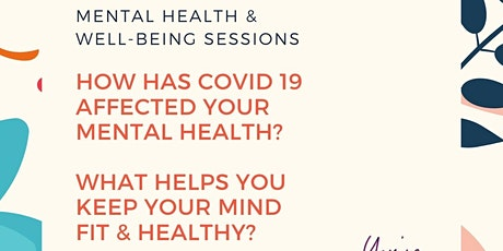 Mental Health & Wellbeing sessions tickets