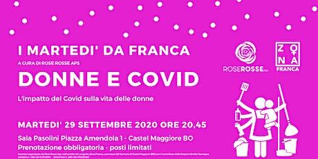 Donne e  Covid - L'impatto del Covid sulla vita delle donne tickets