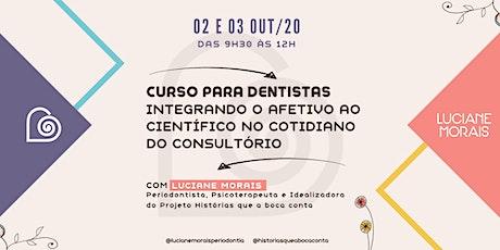 Integrando o Afetivo ao Científico em Odontologia ingressos
