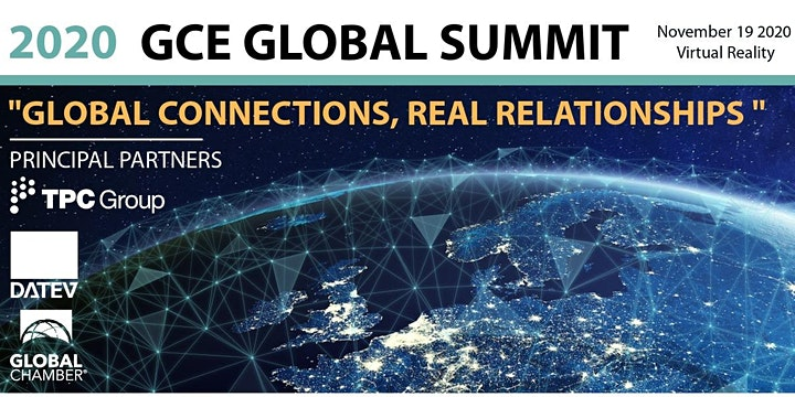"GCE Global | Virtual SUMMIT 2020 | ""Global Connections, Real Relationship"""