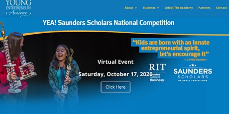 YEA! 12th Annual Saunders Scholars Competition tickets