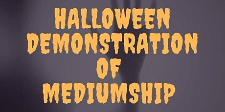 On-Line Halloween Spirit Messages Mediumship Demonstration via Zoom tickets