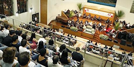 Culto 1IBL - 27/09/2020  -  Inscrição Presencial ingressos