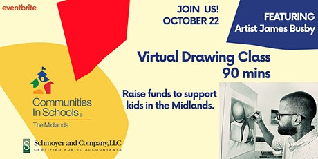 Virtual Drawing Class tickets