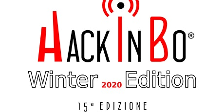 "HackInBo® ""Sicurezza all'ombra delle Torri"" Winter Edition 2020 tickets"