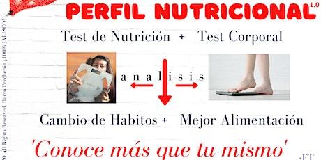Perfil Nutricional 1.0 entradas