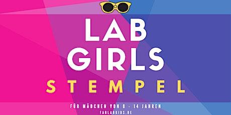 FabLabKids: LabGirls - Stempel - PC und Lasercutter Tickets