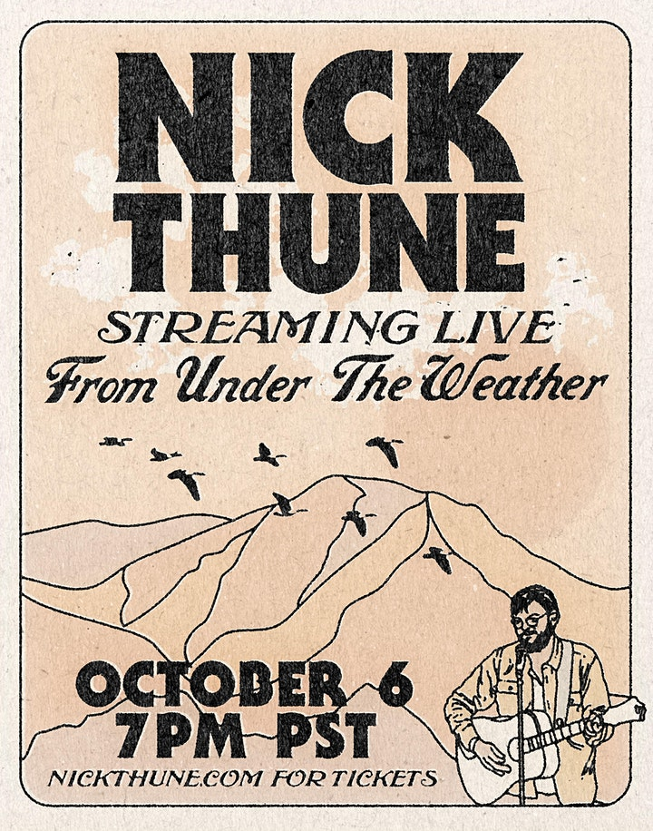 Nick Thune Live from Under the Weather image