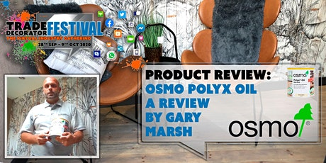 Product Review: Osmo Polyx Oil products tickets