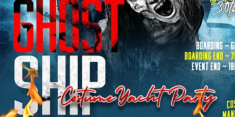GHOST SHIP HALLOWEEN COSTUME YACHT PARTY tickets