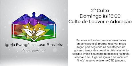 IELB - Culto de louvor e adoração 27.09.2020 às 18:00 - Domingo ingressos
