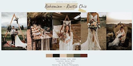 Fall Wedding Styled Shoot - Bohemian/Rustic Chic tickets