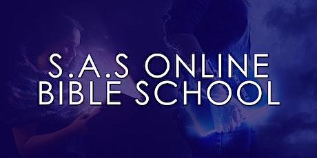 S.A.S Online Bible School tickets