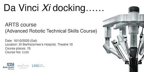 Advanced Robotic Technical Skills (ARTS) Course tickets