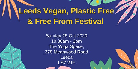 Leeds Free From, Plastic Free and Vegan Festival tickets