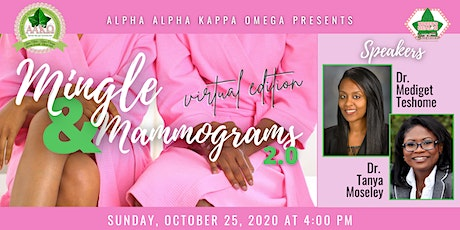 Mingle and Mammograms 2.0 -Virtual Edition tickets