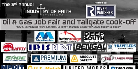 2020 Industry of Faith Oil and Gas Job Fair & Tailgate Cook-Off tickets