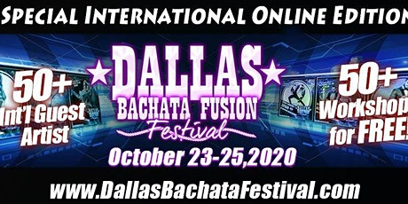 Free 2020 Online Dallas Bachata Festival tickets