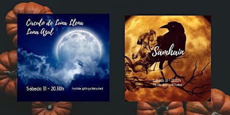 Celebración de Luna Azul y Samhain - Noche de Difuntos entradas