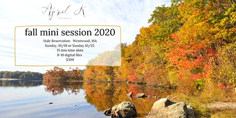 10/25 Sunday 15 minute Fall Mini Session with April K tickets