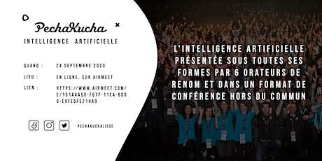 PechaKucha Liège - Intelligence Artificielle billets