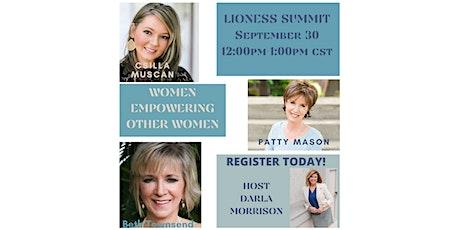 LIONESS SUMMIT:   EXPERT WOMEN CONNECTING WOMEN tickets
