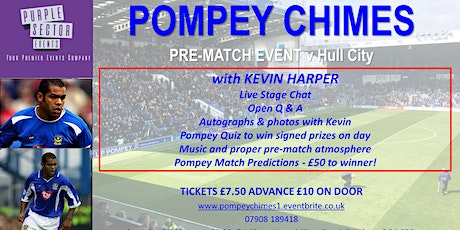 POMPEY CHIMES PRE-MATCH EVENT tickets