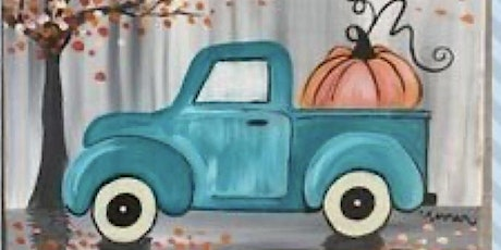 Mommy & Me Paint Party- Blue Truck & Pumpkins tickets